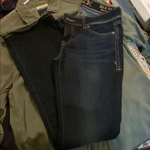 Like new buckle black bootcut jeans